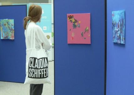 2017 Art exhibit at ERI Birmingham