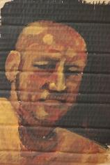 John Acrylic on Cardboard